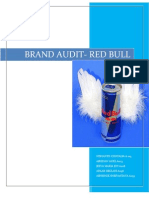 red bull brand audit