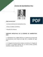El Historicismo de Giambattista Vico