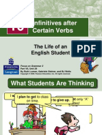 Infinitives After Certain Verbs
