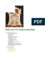 Make You Own Tanjore Paintings
