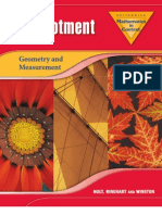 Encycbrita Mathematics in Context Reallotment Geometry and Measurement 2006