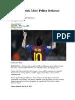 6 Aksi Individu Messi Paling Berkesan