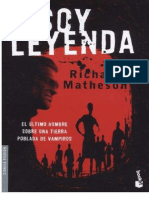 richard matheson - soy leyenda