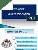 Presentation on Case study of Market Segmentation