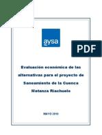 7.Evaluacion Economica Para Estudio Alternativas Saneamiento CMR