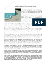Concrete and Its Health and Environmental Impact.2