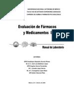 manual de evaluacion de farmacos y medicamentos