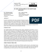 ASSESSMENT OF CMM AND ITS IMPACT ON SOFTWARE QUALITY.pdf
