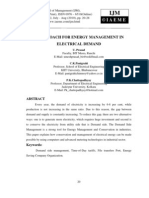 It Approach for Energy Management in Electrical Demand