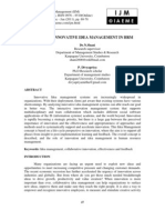 A Role of Innovative Idea Management in Hrm