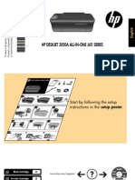 hp  3050a J611 deskjet reference guide set-up manual