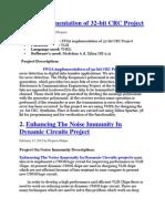 FPGA Implementation of 32
