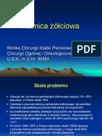 Kamica żółciowa- prezentacja