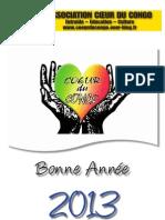 Calendrier 2013 Coeur Du Congo