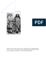 Above is a Well Known Picture of Sri Yukteswar With P Yogananda Take on PY