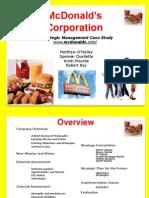 McDonald's Analysis