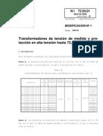 IBERDOLA Transformadores de medida