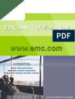 EMC NAS Solutions Day