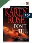 Rose Karen - No Hable