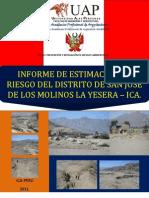 ESTIMACION DE RIESGO DEL DISTRITO DE SAN JOSÉ DE LOS MOLINOS