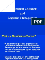 CHAPTER 11 Distribution Channels and Logistics Management