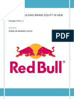 Red Bull building brand equity in new ways