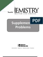 HS Chem Suplemental Problems