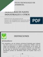 Armaduras en Naves Industriales u Otros