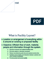 Facility Layout in industrial engineering