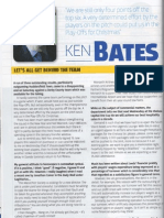 Ken Bates Programme Notes Leeds United Vs Ipswich Town 15.12.12  P1