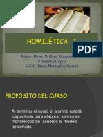 CURSO DE HOMILETICA