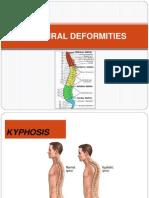 Postural Deformities