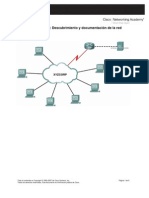 LAB 8.1.2 Descubrimiento y Documentacion de Redes