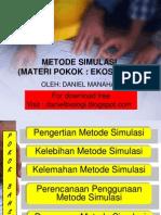 Metode Simulasi