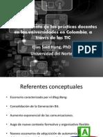 Fortalecimiento de las prácticas docentes en las universidades en Colombia, a través de las TIC