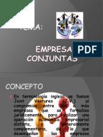 EMPRESAS CONJUNTAS