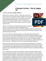 Fosta satanistă Doreen Irvine – De la magie neagră la Hristos