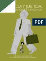 Informe_INFANCIA_Y_JUSTICIA en España (diciembre 2012)