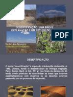 Exposição sobre Desertificação