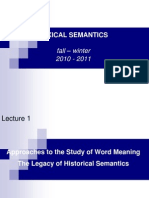 Lexical Semantics 1
