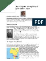 Crónica Nº 82 - Org. Port.(13) -Brito Capelo