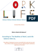 Employee Relations Work Life Balance