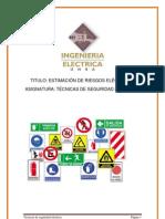ESTIMACIÓN DE RIESGOS ELÉCTRICOS