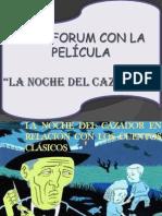 INTERTEXTUALIDAD ENTRE EL CUENTO HANSEL Y GRETEL LA PELÍCULA LA NOCHE DEL CAZADOR .