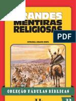Coleção Fábulas Bíblicas Volume 22 - Grandes Mentiras Religiosas