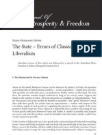 The State - Errors of Classical Liberalism