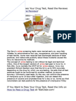 Synthetic Urine Reviews