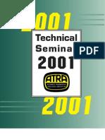 2001 ATRA Semianr Manual