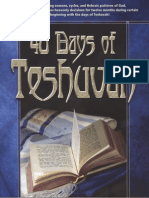 40 Days of Teshuvah