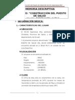 Memoria Descriptiva Del Proyecto Avance Universidad San Pedro
